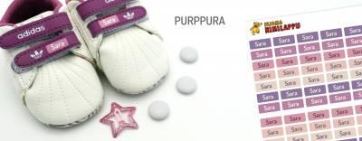 Minitarrat minitavaroihin Purppura