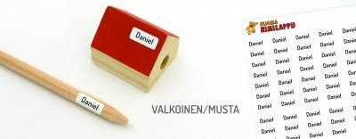 Minitarrat minitavaroihin Valkoinen/Musta