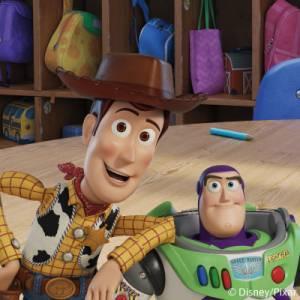 Ei-silitettävät Toy Story -nimilaput