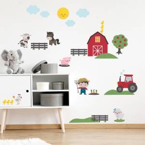 Seinätarrat: Maatila