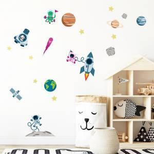 Seinätarrat: Maailmankaikkeus