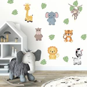 Seinätarrat: Eksoottiset eläimet