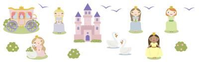 Seinätarrat: Prinsessat