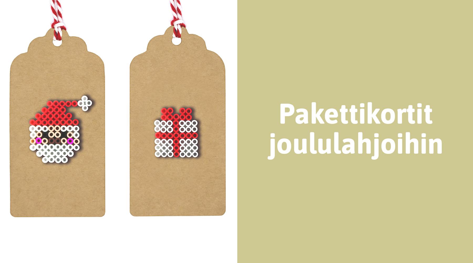 Joulutyöpaja: Persoonalliset pakettikortit joululahjoihin