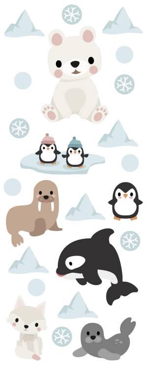 Seinätarrat: Arktiset eläimet