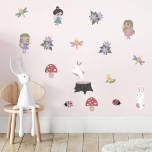Maagiset keiju-seinätarrat